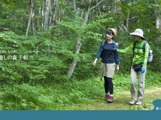 しなの町癒しの森の手帖 -森を歩いてみませんか?-